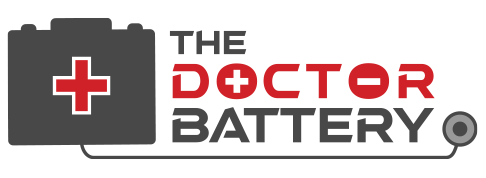 The Doctor Battery Logo x2